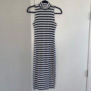 RD Style Striped Midi Bodycon Dress